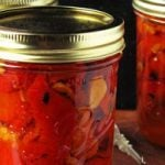 Marinated Red Bell Peppers