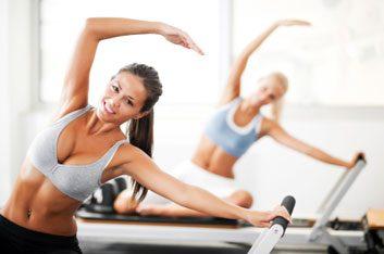 pilates woman fitness