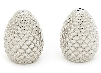 Forest Pine Cone Salt & Pepper Shakers