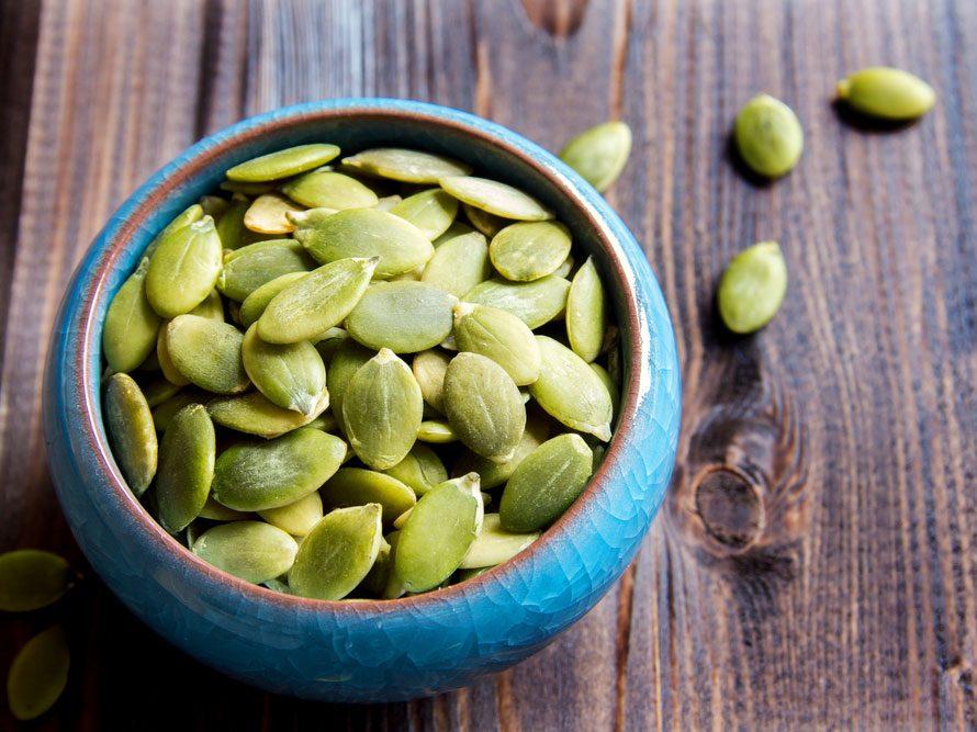 Plant protein pumpkin seeds