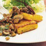 Polenta and Mushroom Grills