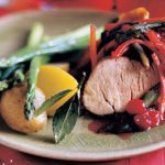 Braised Pork with Cranberries