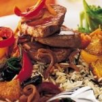 Pork Medallions with Peppers
