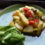 Meatless Monday: Festive Breakfast Potatoes