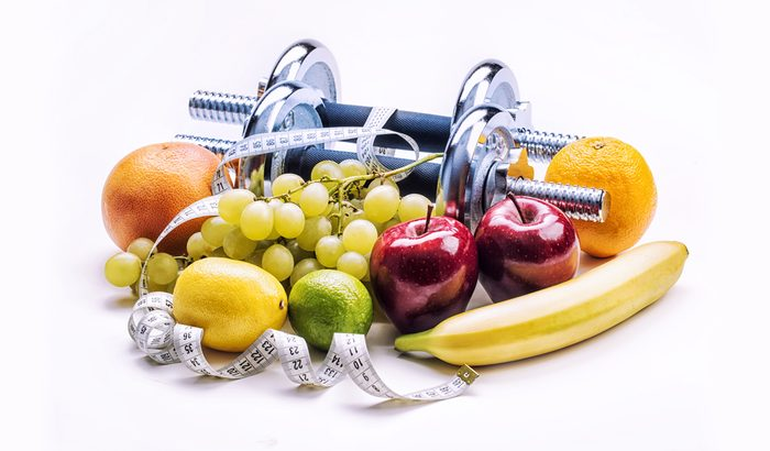 Exercise and a healthy diet are inevitable to increase health.