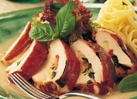 Prosciutto-Stuffed Chicken Breasts
