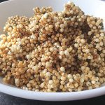 Puffed Quinoa, Flax and Chia Cereal