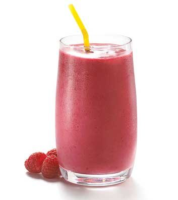 Raspberry-Pomegranate Smoothie