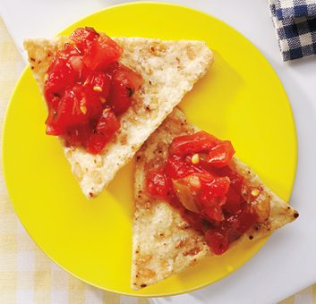 rice chip salsa