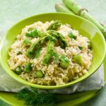 Meatless Monday: Asparagus and Cheese Risotto