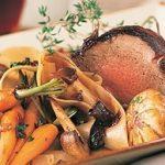 Roast Beef Tenderloin in Red Wine