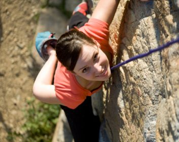 How to fall in love with rock climbing