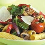 Rustic Broiled Vegetable and Rigatoni Salad