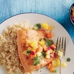 Fish with Salsa Fruta