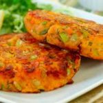 Sweet Potato Salmon Cakes