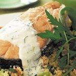 Salmon with Tarragon Mayonnaise