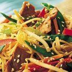 Sesame Pork and Noodle Salad