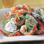 Shellfish Salad With Herbed Lemon Dressing