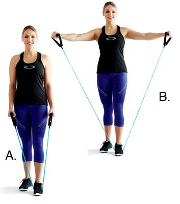 Side shoulder raises: 2 minutes