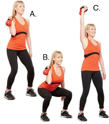 Single-Arm Push-Press: 2 minutes