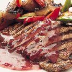 Sirloin Steaks with Port Sauce