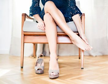 woman chair sit