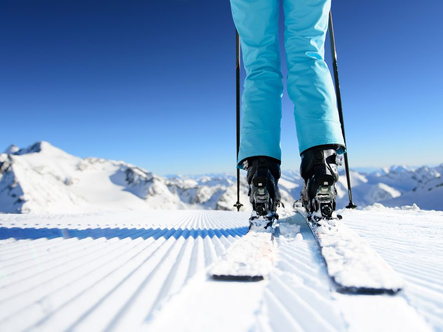 Benefits of skiing to burn calories