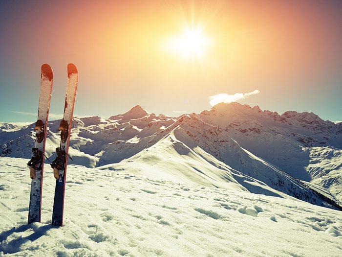 Benefits of skiing for mental health