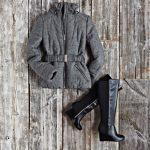Fashionably warm outerwear