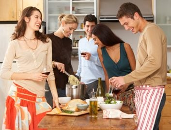 social group dinner