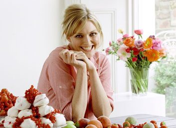 Healthy eating tips from a supermodel