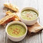 Broccoli-Pistachio Soup