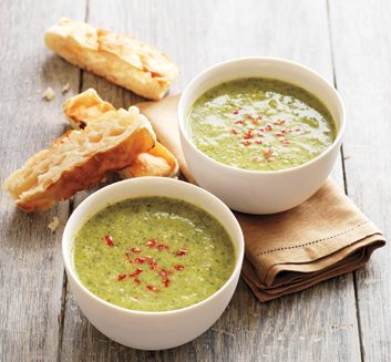Broccoli-Pistachio Soup
