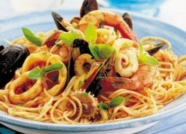 Spaghettini Marinara