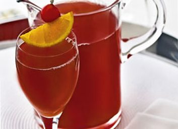 sparkling cherry punch