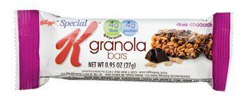Special K Granola Bars in Dark Chocolate