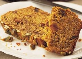 Spiced Pumpkin Tea Bread