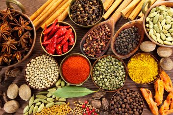 Incorporate health-promoting spices