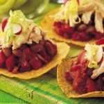 Spicy Chicken Tostadas