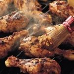 Spicy Jamaican Barbecued Chicken