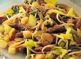 Spicy Stir-Fried Duck