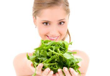 spinach iron