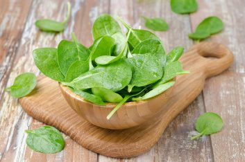 Sneak in nutrient-rich spinach