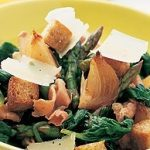 Spinach, Prosciutto and Asparagus Salad
