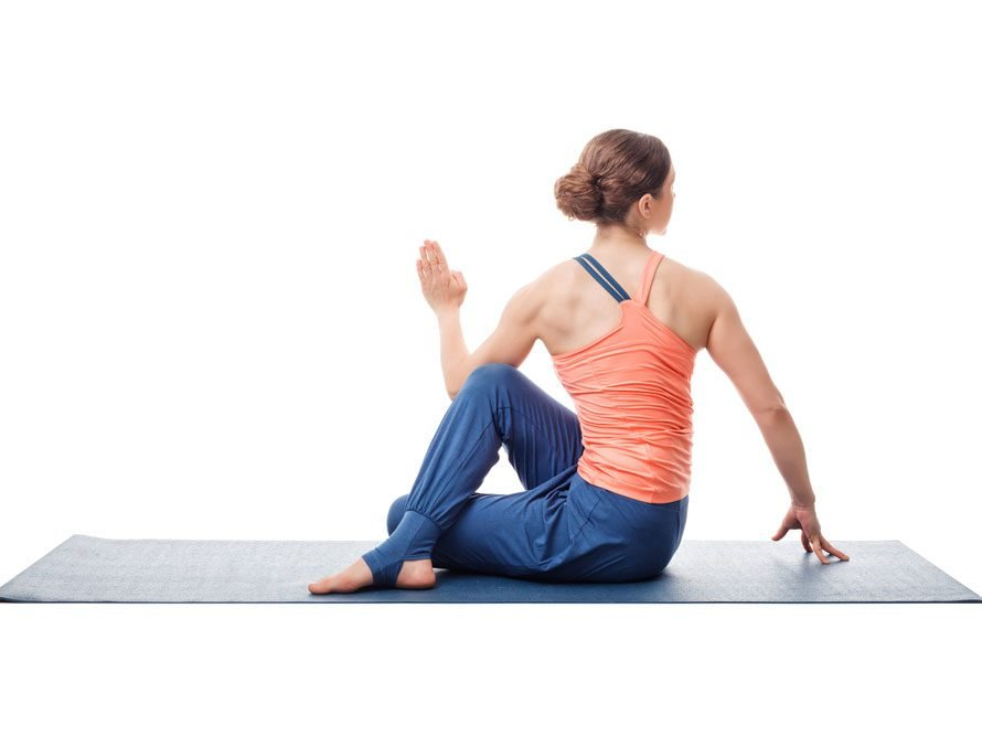 yoga stretches for lower back