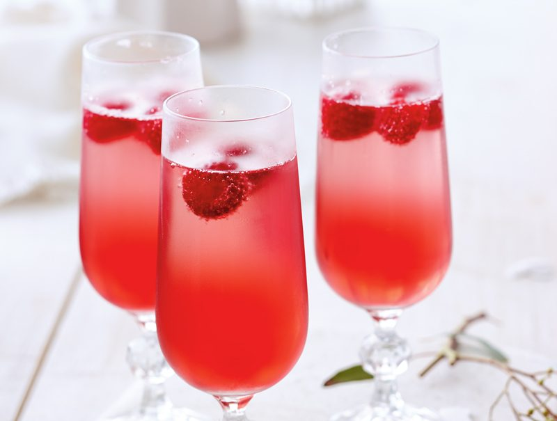 Sparkling Spring Cocktail