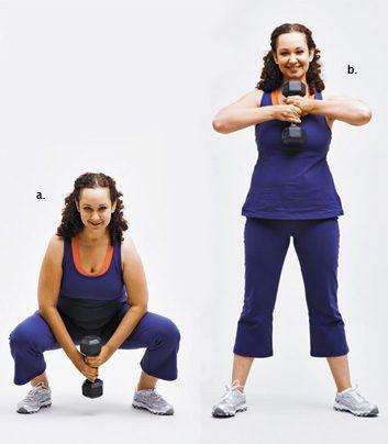 squat pull