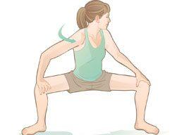 Squat stretch