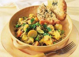 Stir-Fried Vegetable Curry