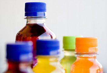 sugary drinks pop juice